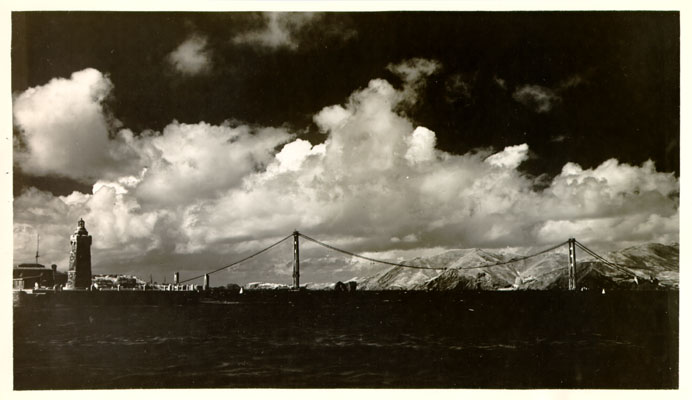 Construction of the Golden Gate Bridge