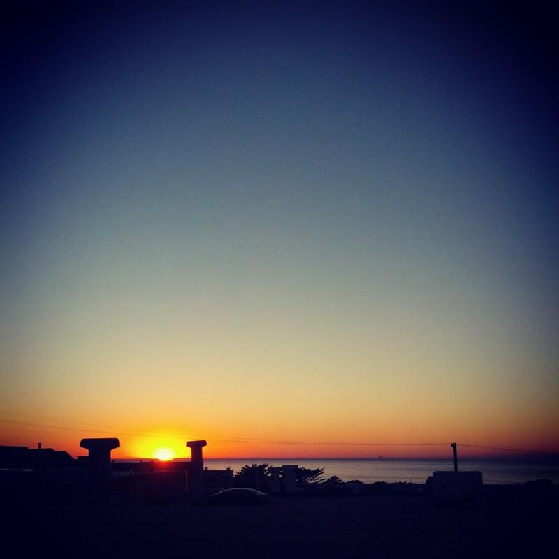 Farallon Islands at #Sunset
