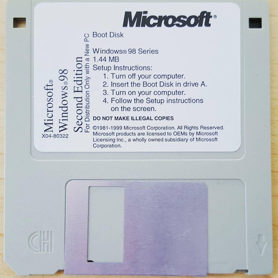 Computing like it's 1998... #💾