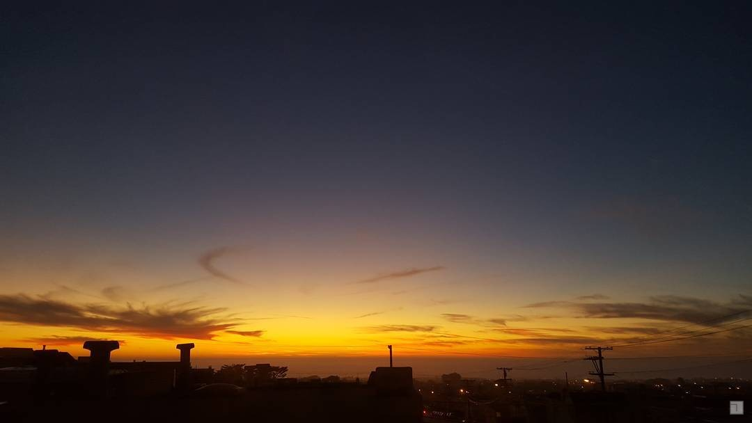 #SF #PresidentsDay #sunset