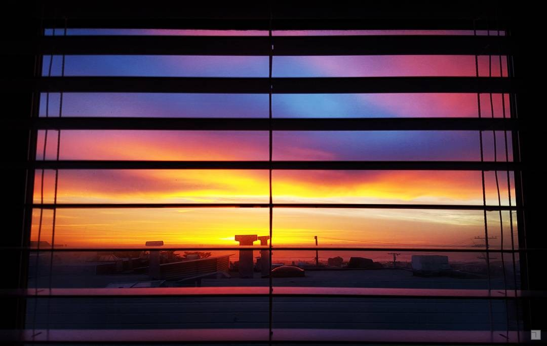 Good to open the blinds every once in a while... #🌆