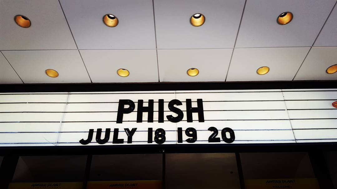 Night 1 of 3. #Phish #Summer2016 #SF 🎉
