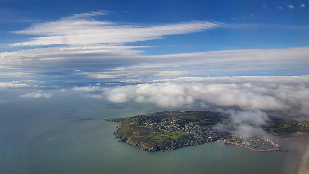 Approach into #Dublin International Airport #🇮🇪