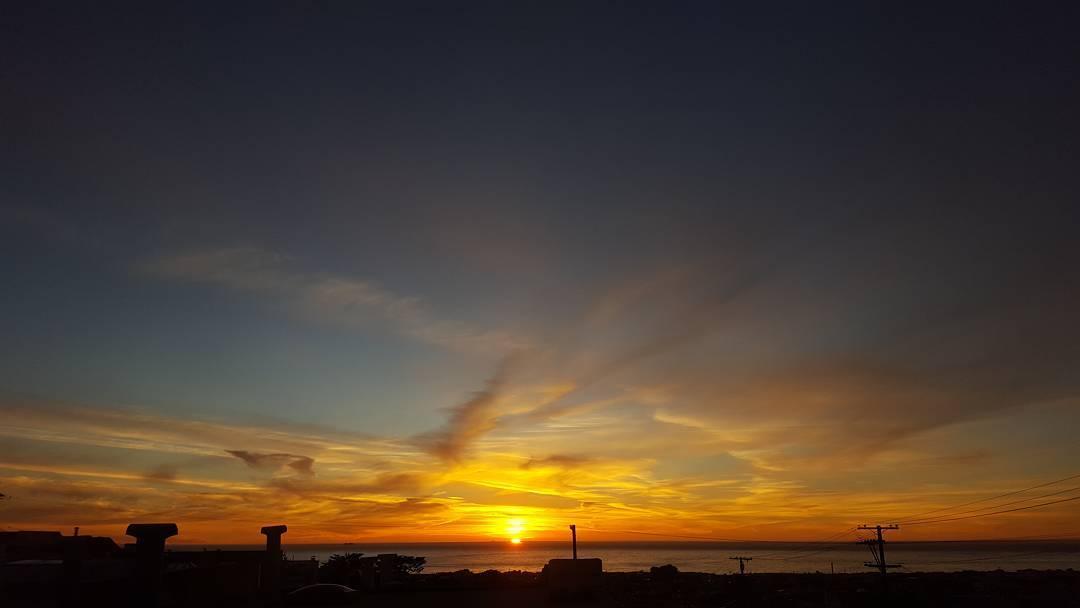 #SF #sunset #GoGiants ⚾