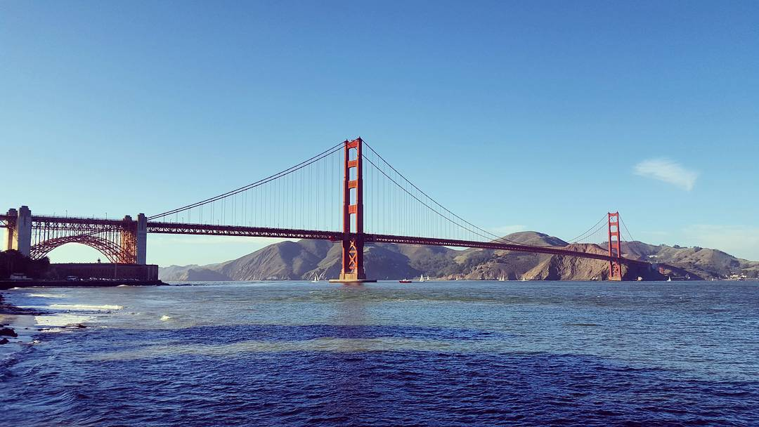 Beautiful day by the #SF Bay