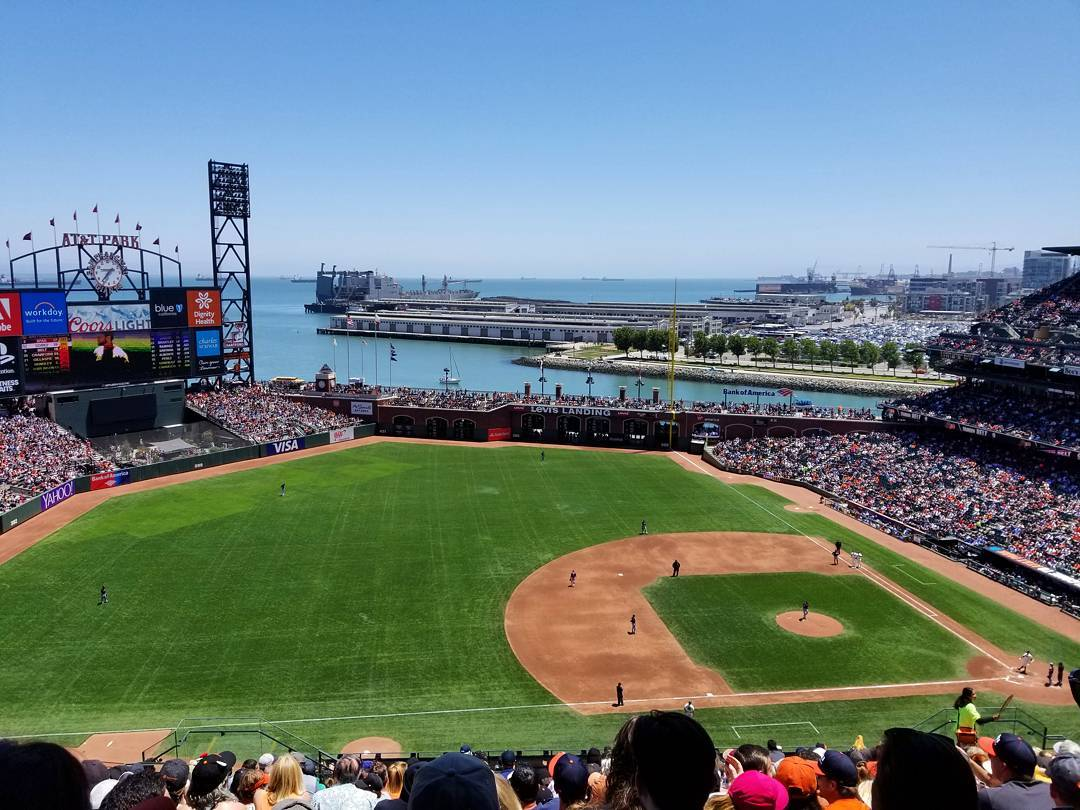 Day game #⚾ #SFGiants