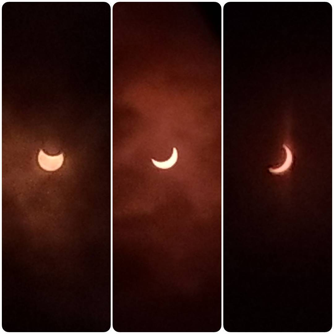 ☀️🕶️ 👀 📷 #Eclipse2017 #SF