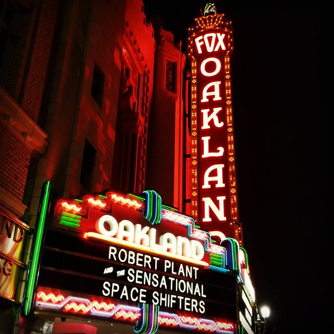 #RobertPlant at the #FoxTheater!