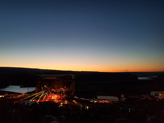 Gorge-ous sunset 🎣 #Phish