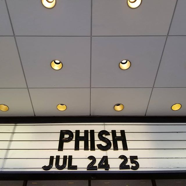 Home court 🎣 #Phish